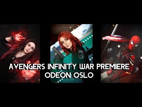 Avangers Infinity War premiere - Odeon Oslo - Cosplay