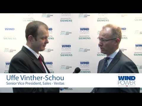 Uffe Vonther Schou, from Vestas, interviewed at Offshore Wind 2013