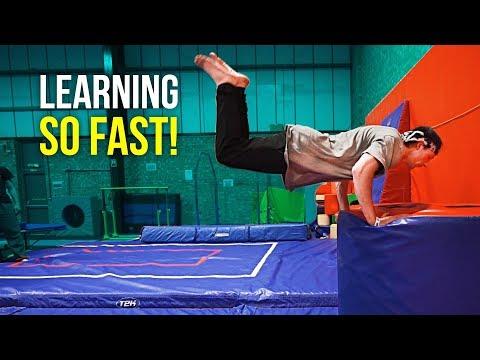 LEARNING FREERUNNING FLIPS!