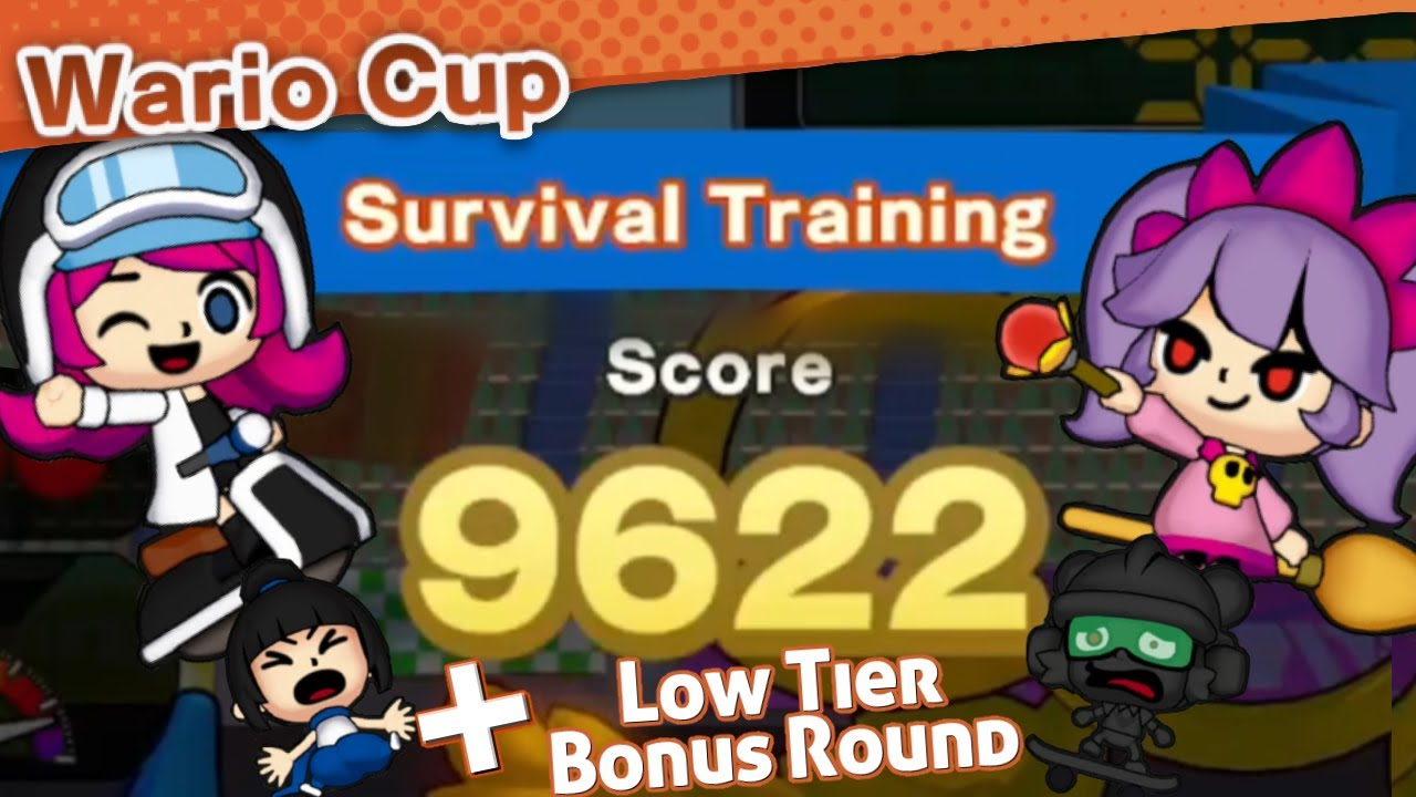 WarioWare: Get It Together! - Wario Cup Week 2 - 9622 Score (+ Low Tier Round) (No Commentary)