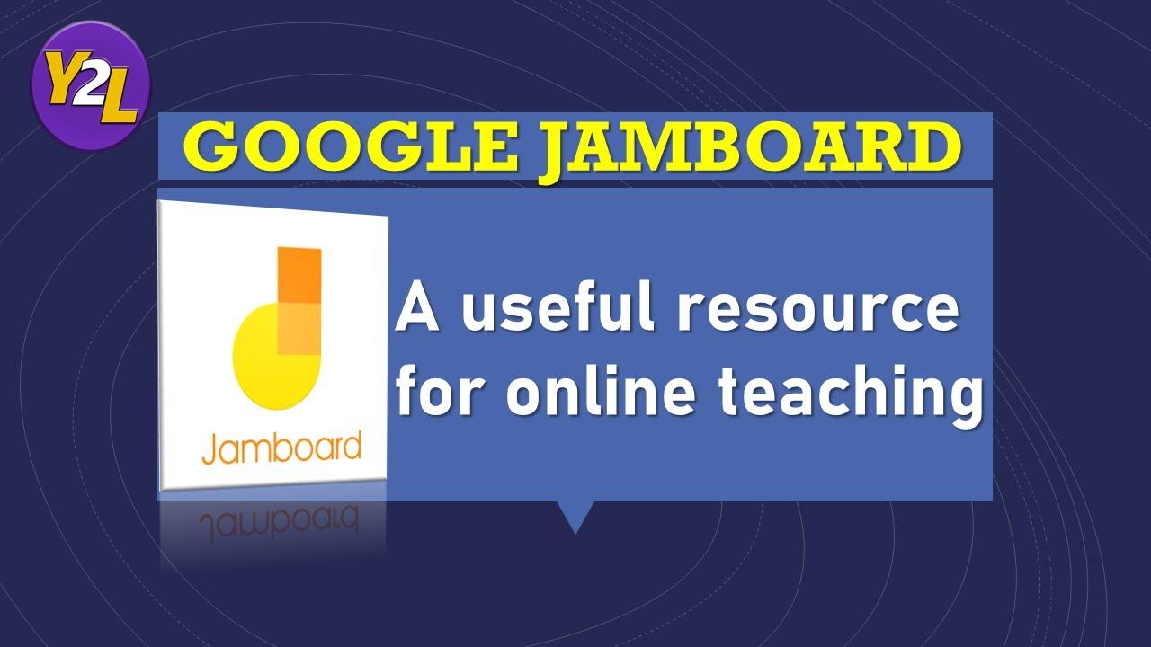 GOOGLE JAMBOARD for teachers - useful resource  How to use Jamboard in  Zoom meeting (For Teachers)