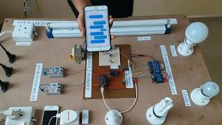 IoT Based Home Automation System Over The Cloud (Final Year Project)