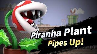 Super Smash Bros Ultimate: Piranha Plant Reveal Trailer