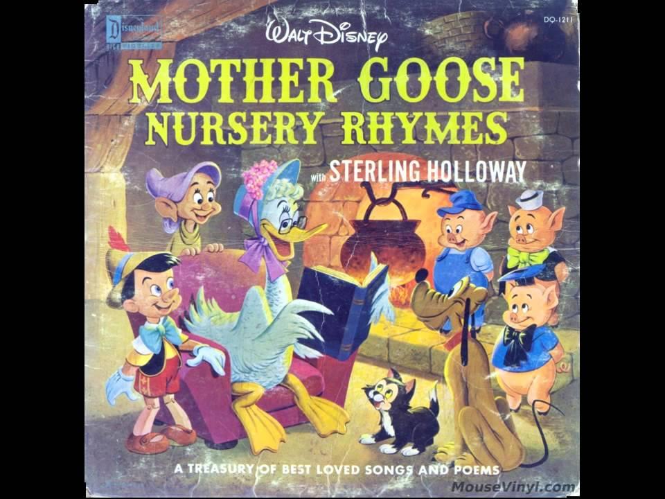 Disney S Mother Goose Nursery Rhymes Cette Tape