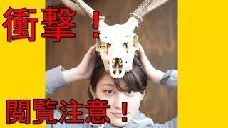 Mステにも出演の水曜日のカンパネラ【コムアイ】特技は何と鹿の解体!水...