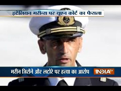 Italian Marine Can Return Home over India's Supreme Court Conditions