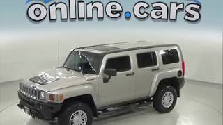 C97500NC Used 2008 Hummer H3 4WD Test Drive, Review, For Sale