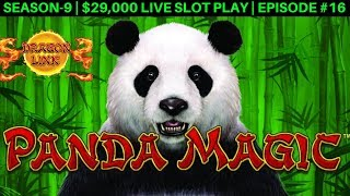 Dragon Link PANDA MAGIC Slot Machine $10 Max Bet Bonus | Season 9 | Episode #16