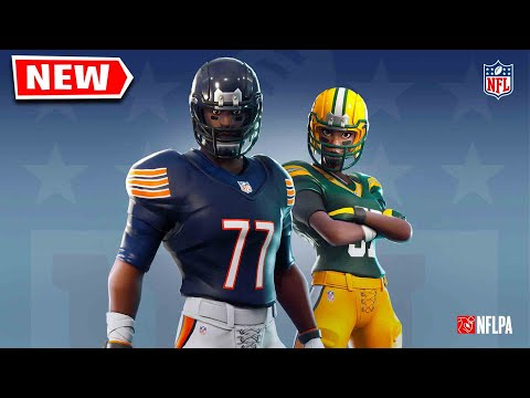 New FOOTBALL Skins Out Right Now! (Season X)