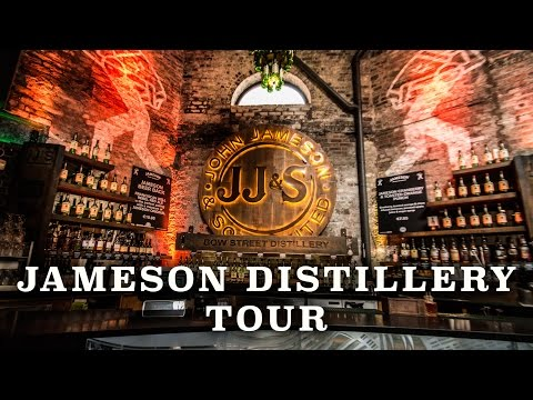Jameson Whiskey Distillery Tour Dublin Ireland