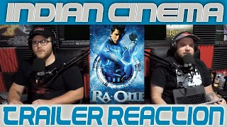 Indian Cinema: Ra One Trailer Reaction!