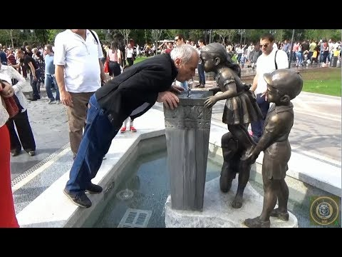 Новый Парк в Ереване в честь 2800 летия.часть 1