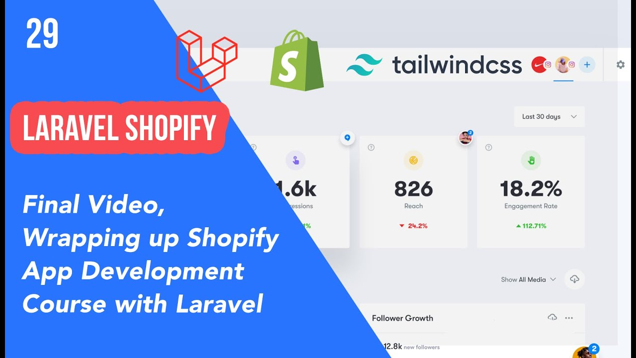 29   Final Video, Wrapping up Shopify App Development Course