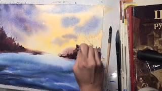 Уроки рисования акварелью для начинающих
