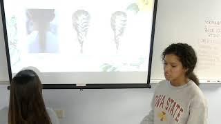Darby Thomas: Demonstrative Speech (How to Braid Hair)
