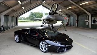 Video Kawasaki Ninja H2r vs The Most Powerful Cars and Lamborghini Aventador vs F16 Fighting Falcon download MP3, 3GP, MP4, WEBM, AVI, FLV Juli 2018