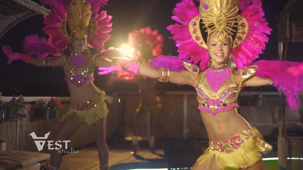 Краски бразильского карнавала 2013 - YouTube