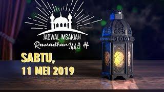 Gambar cover Jadwal Imsak dan Buka Puasa Sabtu 11 Mei 2019 Bulan Ramadan 1440 H