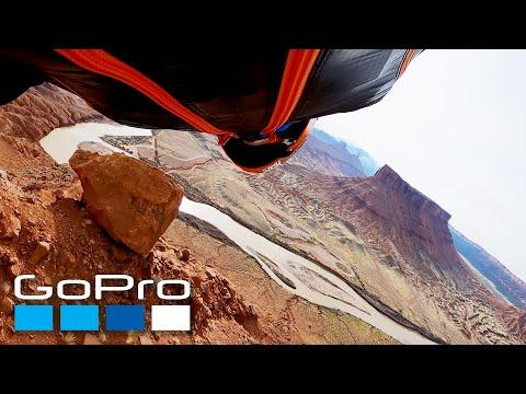 GoPro: Wingsuit Flight Through Castle Valley Utah