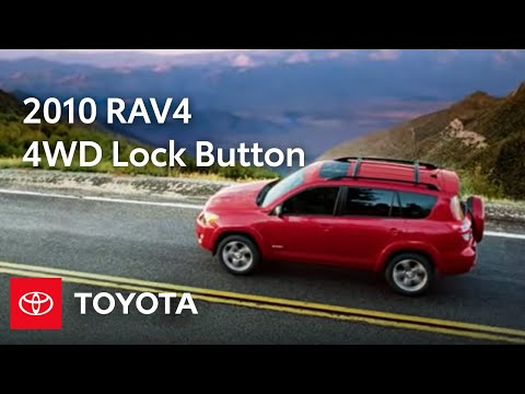 2010 RAV4 How-To: 4WD Lock Button | Toyota