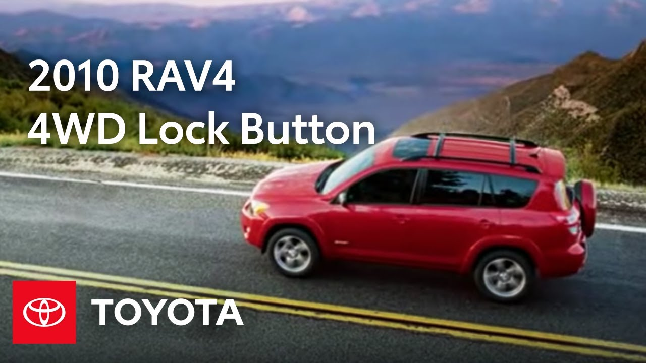 2010 rav4 how to 4wd lock button toyota [ 1280 x 720 Pixel ]