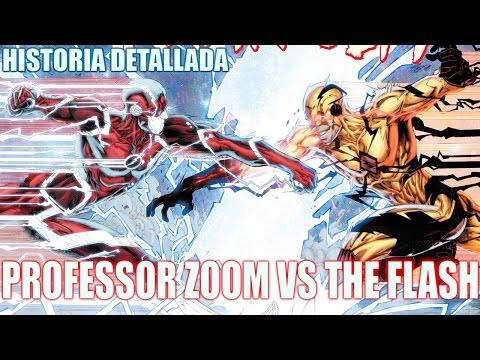PROFESSOR ZOOM VS THE FLASH - La Historia Detallada Completa - The Flash Comics