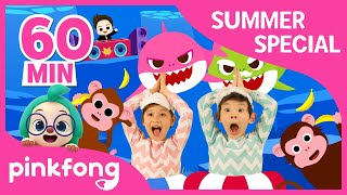 Download Baby Shark Dance and more | Summer Songs Special | +Compilation | Pinkfong Songs for Children