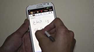 Samsung Galaxy Note 2 S-Pen Coverage