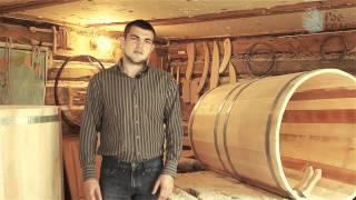 Производство уникальных кедровых бочек РосКедр.(Производство мини-парных