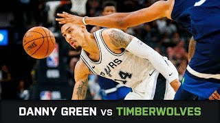 Danny Green's Highlights: 17 PTS, 2 AST, 2 BLK, 2 STL, 3 threes vs Timberwolves (18.10.2017)