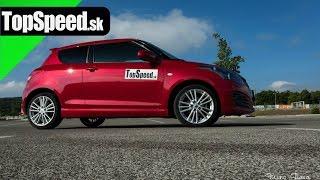 Test Suzuki Swift Sport II TopSpeed.sk
