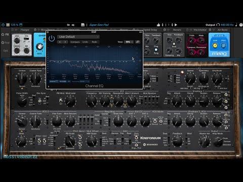 Knifonium Synth Sounds 4k