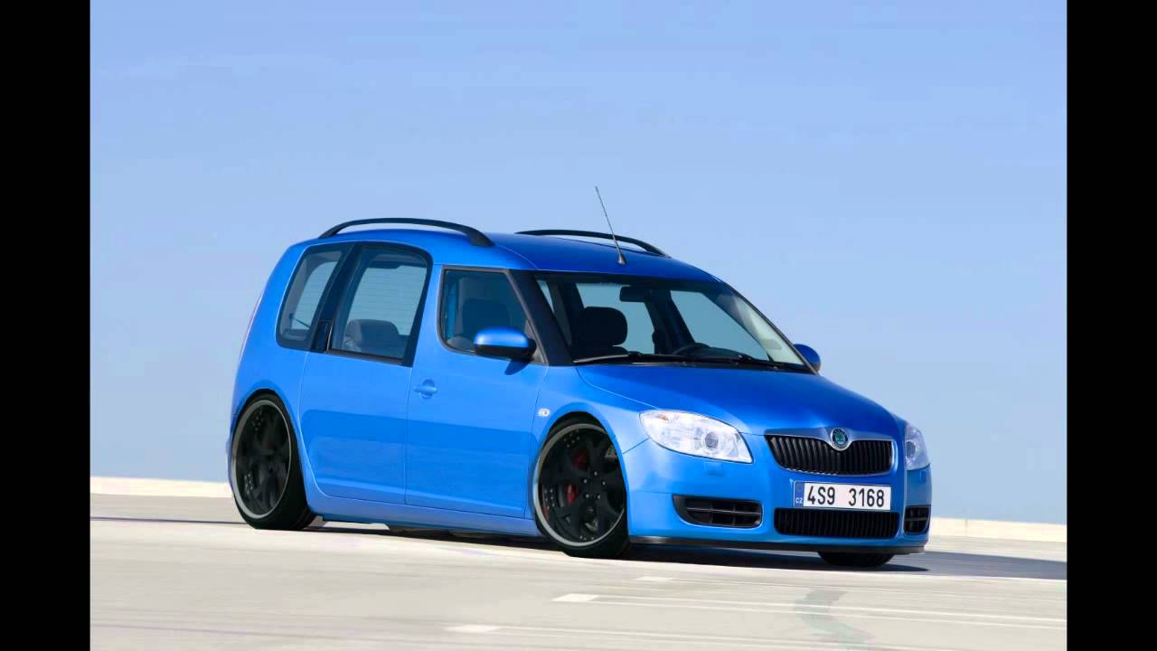 virtual tuning skoda roomster step by step youtube. Black Bedroom Furniture Sets. Home Design Ideas