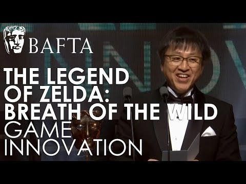 The Legend of Zelda: Breath of the Wild wins Game Innovation | BAFTA Games Awards 2018