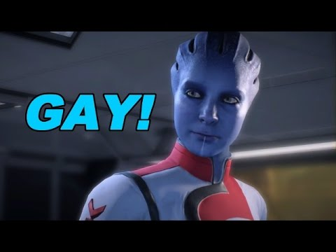 Mass Effect: Andromeda Is Super Gay - First 50 Minutes of Gameplay