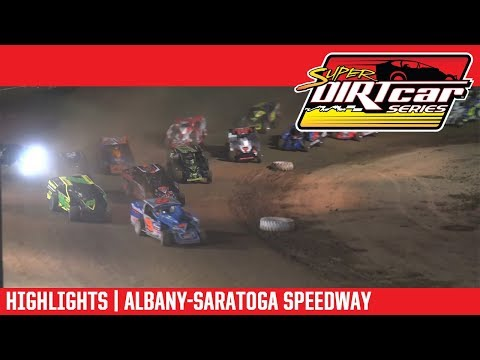 Super DIRTcar Series Big Block Modifieds Albany-Saratoga Speedway June 26, 2018 | HIGHLIGHTS