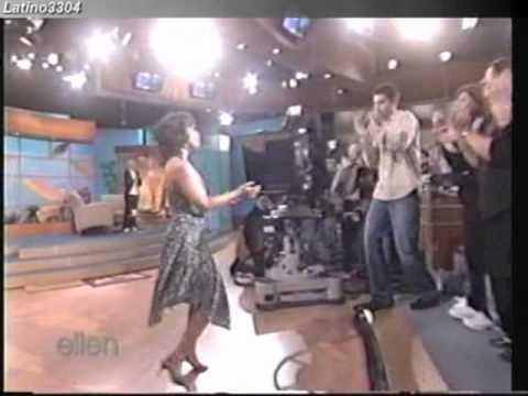 Rosie Perez  dancing on Ellen WOW!!!!!!!!!!