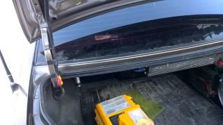 Автоматическое открытие и закрытие крышки багажника HYUNDAI Accent