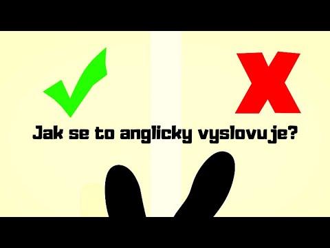 Angličtina - anglická slova, která vyslovujeme špatně - Kolik dáte dobře?