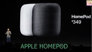 Apple HomePod - Connected Speaker with Siri | Delays Untill 2018
