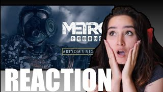 Artyom's Nightmare Official Story Trailer Reaction