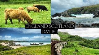 Путешествие в Шотландию: День 8-11 (На поезде Гарри Поттера, Атлантический океан)