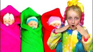 Are you sleeping brother John  #6 \Tawaki kids pretend play with baby dolls