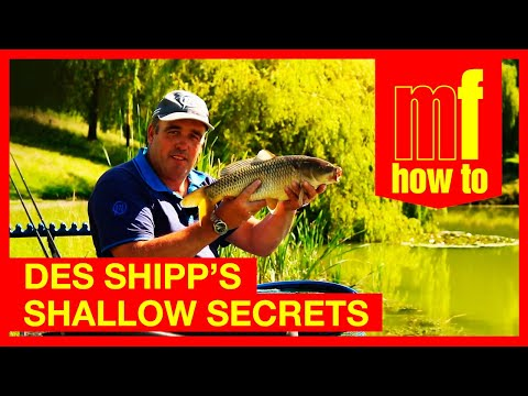 Pole Fising Shallow For Carp With Des Shipp