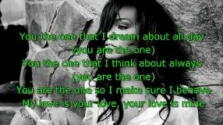 rihanna you da one lyrics new 2011
