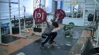 Савкин Виктор, 12 лет, вк 50 Рывок 16 кг Личный рекорд! Новичок