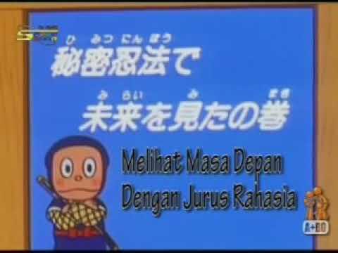 Ninja Hatori Bahasa Indonesia - Jurus Rahasia Melihat Masa Depan
