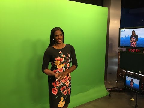 Vivian Brown used to be on The Weather Channel she now at CBS 46 in Atlanta area