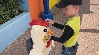 Legoland Dubai мы в Леголенд Дубай Огромные ЛЕГО