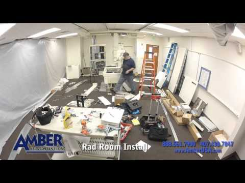installing a radiology room in 90 seconds